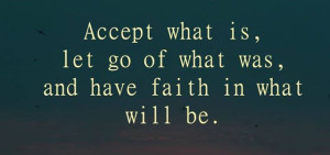 accept what is quote