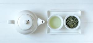 herbal tea and tea pot